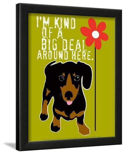 Big Deal-Ginger Oliphant-Framed Art Print