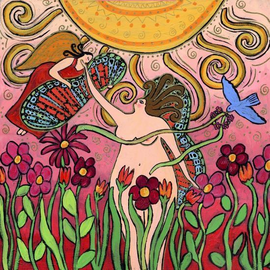 Big Diva Birth of a Goddess-Wyanne-Giclee Print