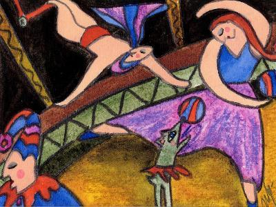 Big Diva Circus-Wyanne-Giclee Print