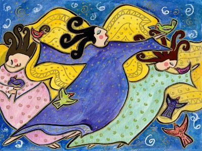 Big Diva Dancing Angels-Wyanne-Giclee Print
