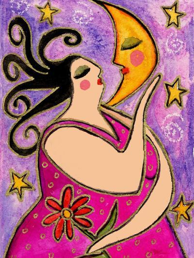 Big Diva Kissing the Moon-Wyanne-Giclee Print