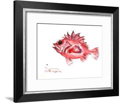 Big Eye Redfish-Suren Nersisyan-Framed Art Print