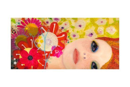 Big Eyed Girl from Within-Wyanne-Giclee Print