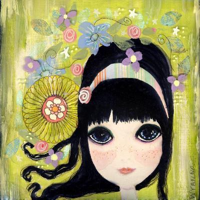 Big Eyed Girl Missing You-Wyanne-Giclee Print