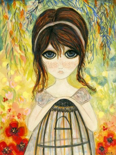 Big Eyed Girl Not Today-Wyanne-Giclee Print