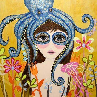 Big Eyed Girl She Can See Clearly Now-Wyanne-Giclee Print