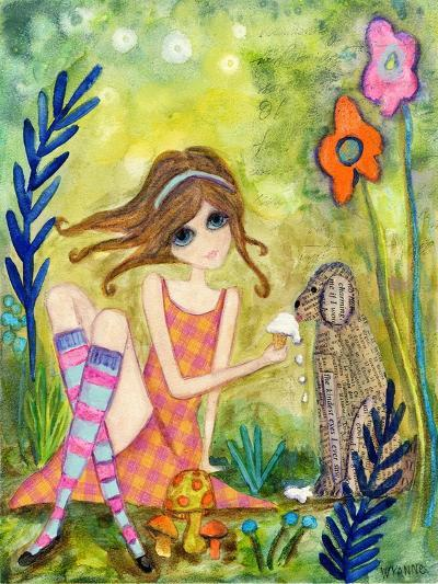 Big Eyed Girl the Charmer-Wyanne-Giclee Print