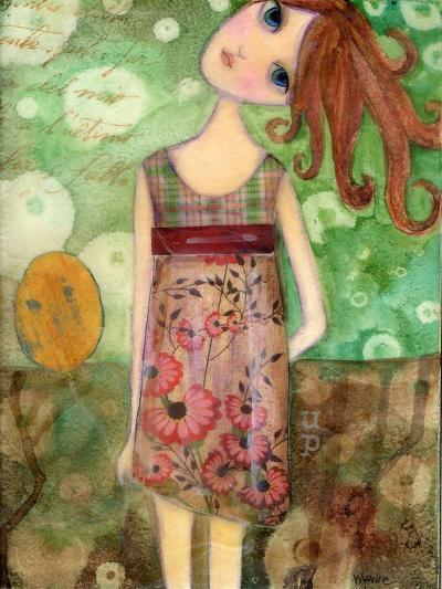 Big Eyed Girl Up-Wyanne-Giclee Print
