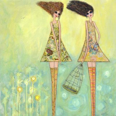 Big Eyed Girls for the Best-Wyanne-Giclee Print