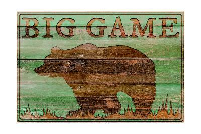 Big Game Bear-Cora Niele-Art Print
