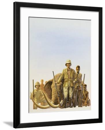 Big Game Hunting--Framed Giclee Print