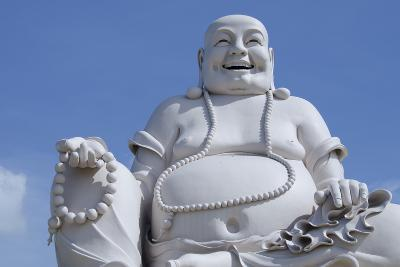 Big Happy Buddha Statue, My Tho, Vietnam-Cindy Miller Hopkins-Photographic Print