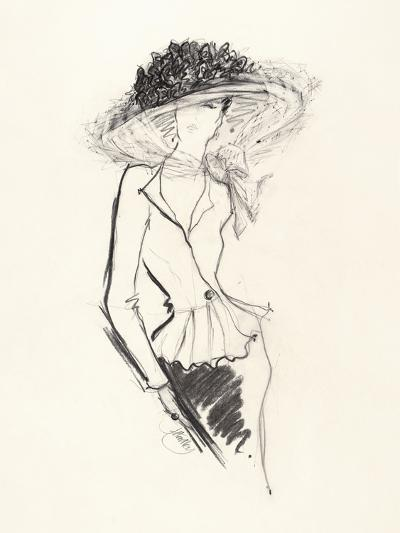 Big Hat-Jane Hartley-Giclee Print