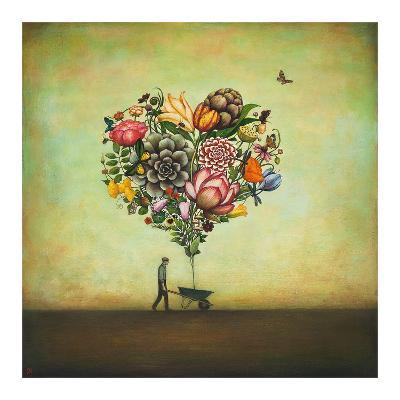 Big Heart Botany-Duy Huynh-Art Print