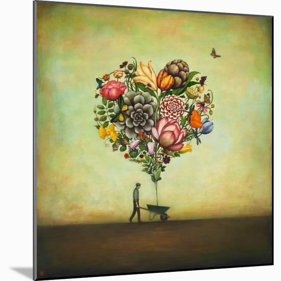 Big Heart Botany-Duy Huynh-Mounted Art Print