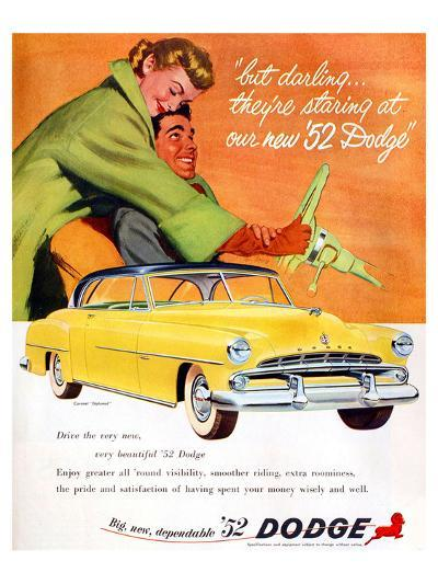 Big New Dependable 52 Dodge--Art Print
