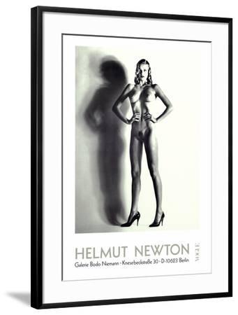 Big Nude-Helmut Newton-Framed Art Print