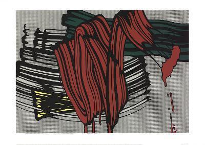 Big Painting #6-Roy Lichtenstein-Serigraph