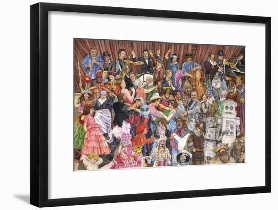 Big Party 600-Wendy Edelson-Framed Giclee Print