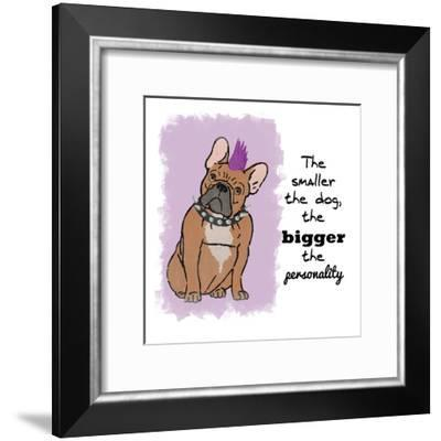 Big Personality-Marcus Prime-Framed Art Print
