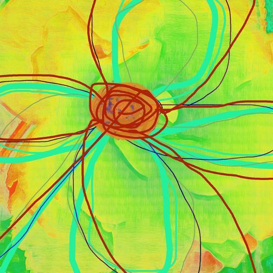 Big Pop Floral II-Ricki Mountain-Art Print