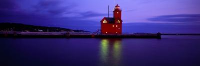 Big Red Lighthouse, Holland, Michigan, USA--Photographic Print