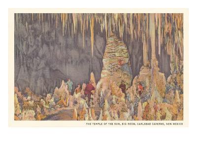 Big Room, Carlsbad Caverns, New Mexico--Art Print