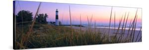 Big Sable Point Lighthouse at dusk, Ludington, Mason County, Michigan, USA