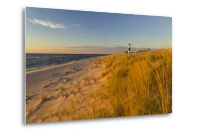 Big Sable Point Lighthouse on Lake Michigan, Ludington SP, Michigan-Chuck Haney-Metal Print