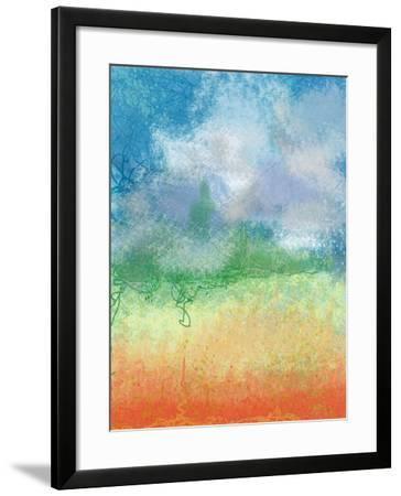Big Sky Calm-Jan Weiss-Framed Art Print