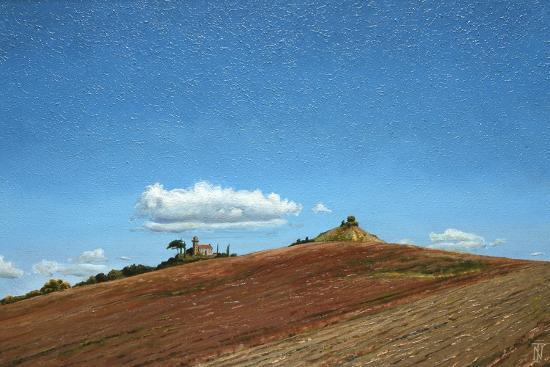 Big Sky, Hill Top, Todi, Umbria, 1998-Trevor Neal-Giclee Print