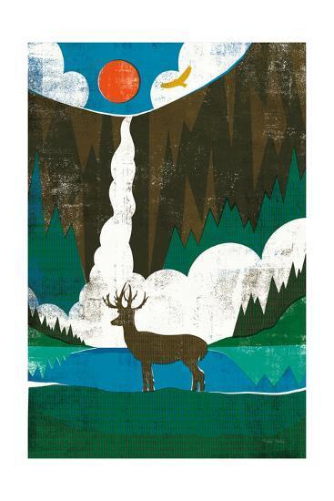Big Sky II No Words-Michael Mullan-Art Print