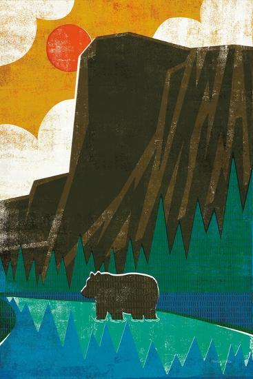 Big Sky IV No Words-Michael Mullan-Art Print