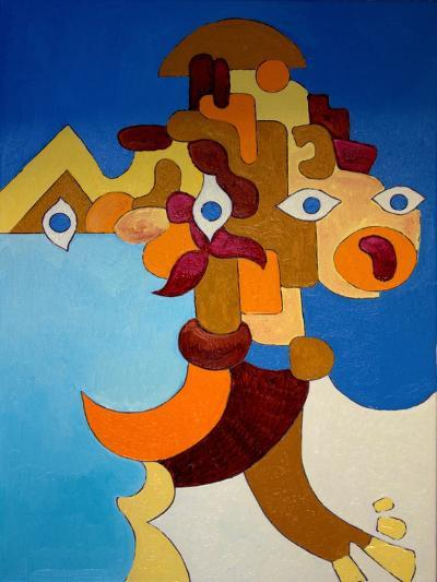 Big Sphinx, 2009-Jan Groneberg-Giclee Print