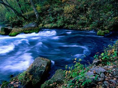 Big Spring, Ozarks National Scenic Riverways, Ozark National Park, Missouri-John Elk III-Photographic Print