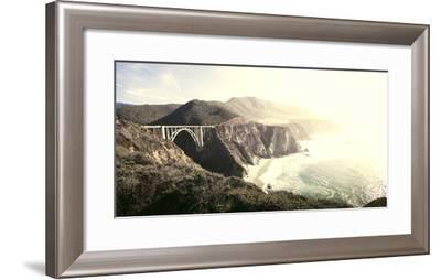 Big Sur Bixby Bridge-Lindsay Daniels-Framed Photographic Print