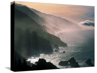 Big Sur Coastline CA USA--Stretched Canvas Print
