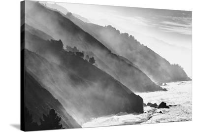 Big Sur Coastline, California--Stretched Canvas Print