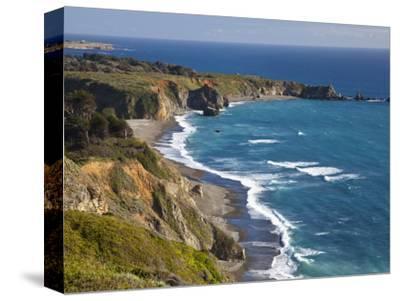 Big Sur Coastline in California, USA-Chuck Haney-Stretched Canvas Print