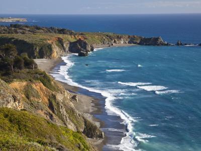 Big Sur Coastline in California, USA-Chuck Haney-Premium Photographic Print