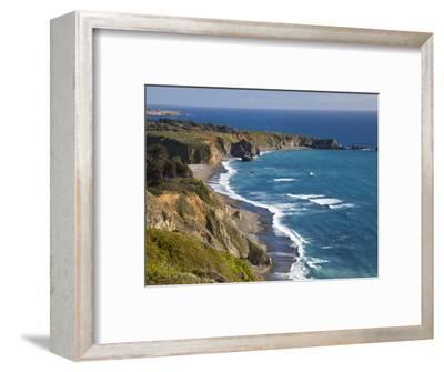 Big Sur Coastline in California, USA-Chuck Haney-Framed Premium Photographic Print