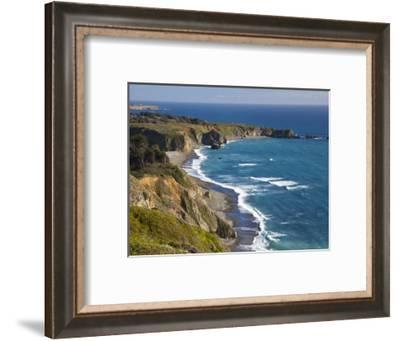 Big Sur Coastline in California, USA-Chuck Haney-Framed Photographic Print