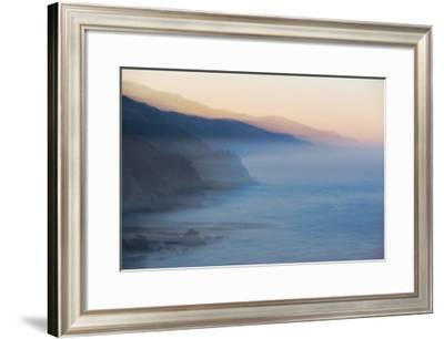 Big Sur Dawn-William Neill-Framed Giclee Print