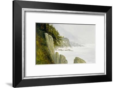 Big Sur-Miguel Dominguez-Framed Premium Giclee Print