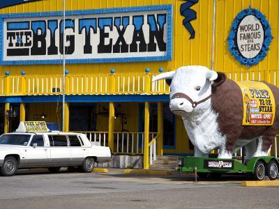 Big Texan Steak Ranch on Historic Route 66-Richard Cummins-Photographic Print