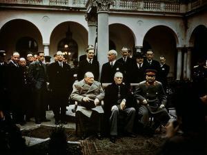 Big Three Conference, Yalta, February 1945, Photograph