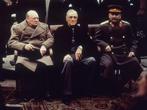 Big Three Yalta 1945