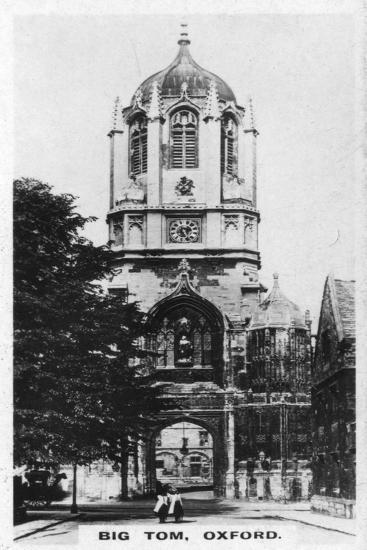 Big Tom, Oxford, C1920S--Giclee Print