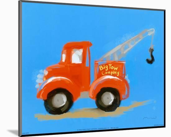 Big Tow Company-Anthony Morrow-Mounted Print