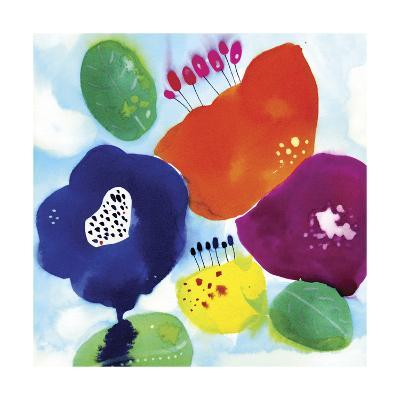Big Water Flowers-Cayena Blanca-Giclee Print